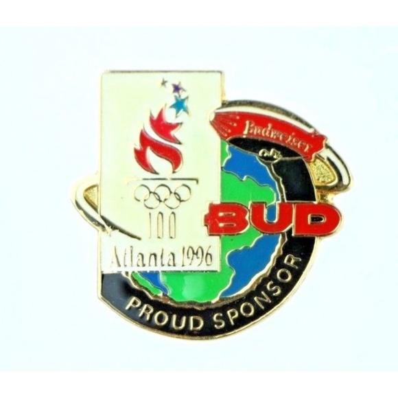 Jewelry - 1996 Atlanta Olympics Budweiser Olympic Pin